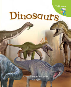 Cover for E-Mouse Dinosaurs