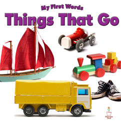 Cover for My first Words - Things That go