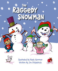 Cover for The Raggedy Snowman