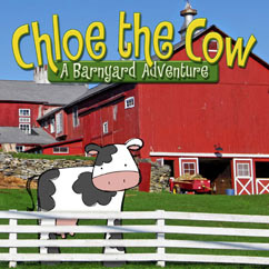 Cover for Chloe the Cow