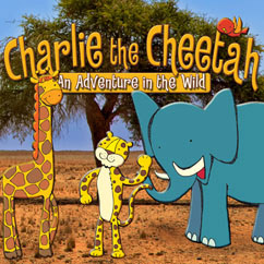 Cover for Charlie the Cheetah