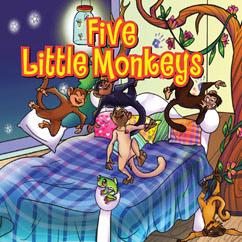 Cover for Five Little Monkeys