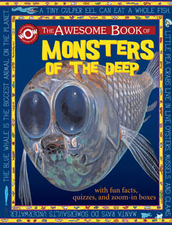 Cover for Monsters of the Deep
