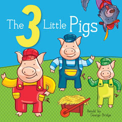 Cover for 3 Little Pigs
