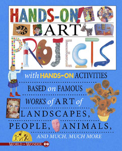 Cover for Hands On! Art Projects