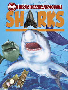 Cover for I Know About! Sharks
