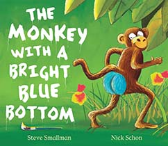 Cover for The Monkey With A Bright Blue Bottom