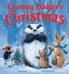 Cover for Grumpy Badger's Christmas