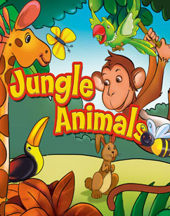 Cover for Jungle Animals