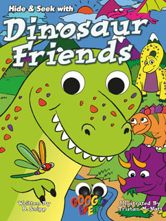 Cover for Dinosaur Friends