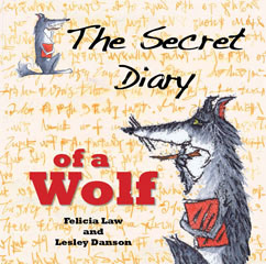 Cover for The Secret Diary of a Wolf