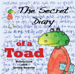 Cover for The Secret Diary of a Toad