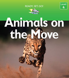 Cover for Animals on the Move