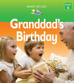Cover for Grandad's Birthday