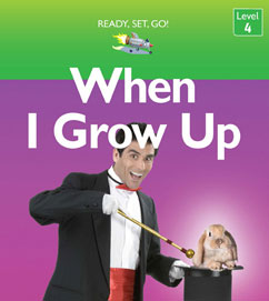 Cover for When I Grow Up