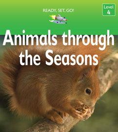 Cover for Animals Through the Seasons