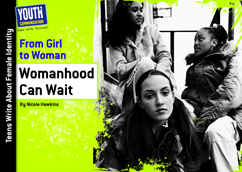Cover for Womanhood Can Wait
