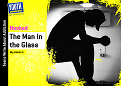 Cover for The Man in the Glass