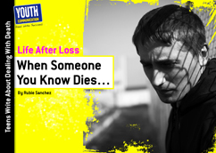 Cover for When Someone You Know Dies…
