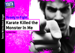 Cover for Karate Killed the Monster In Me