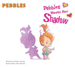 Cover for Pebbles Meets Her Shadow