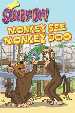 Cover for Scooby-Doo: Monkey See, Monkey Doo
