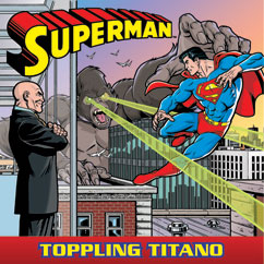 Cover for Superman: Toppling Titano