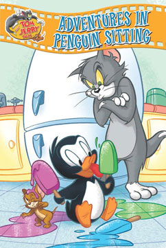 Cover for Tom and Jerry: Adventures in Penguin Sitting