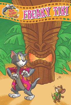 Cover for Tom and Jerry: Freaky Tiki