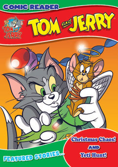 Cover for Tom and Jerry: Christmas Chaos/Yeti Hunt