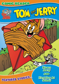 Cover for Tom and Jerry: Blown Away/First Day at School