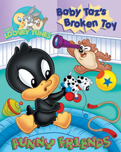 Cover for Baby Looney Tunes: Baby Taz's Broken Toy