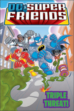 Cover for DC Super Friends: Triple Threat