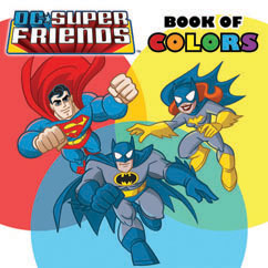 Cover for DC Super Friends: Book of Colors