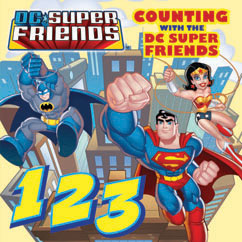 Cover for Counting with the DC Super Friends