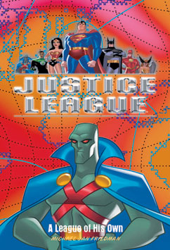 Cover for Justice League: A League of His Own