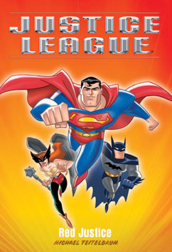 Cover for Justice League: Red Justice