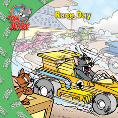 Cover for Tom and Jerry: Race Day