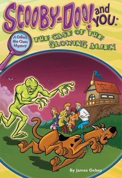 Cover for The Case of the Glowing Alien
