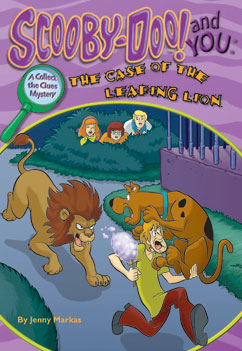 Cover for The Case of the Leaping Lion