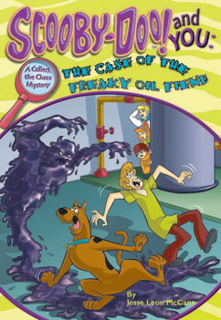 Cover for The Case of the Freaky Oil Fiend