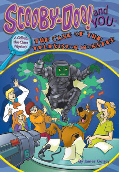 Cover for The Case of the Television Monster