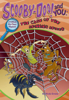Cover for The Case of the Spinning Spider