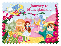 Cover for Journey to Munchkinland