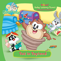 Cover for Baby Looney Tunes: Taz in Toyland