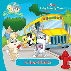 Cover for Baby Looney Tunes: School Daze
