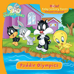 Cover for Baby Looney Tunes: Puddle Olympics