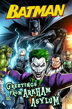 Cover for Batman: Greetings from Arkham Asylum