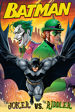 Cover for Batman: Joker vs. Riddler