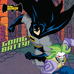 Cover for The Batman: Going Batty